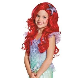 Girls Ariel Ultra Prestige Halloween Wig