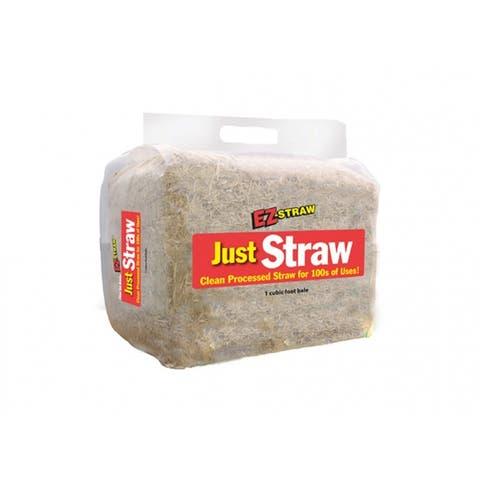 Rhino MILEZJUSTSTRAW EZ-StrawA Just Straw All Purpose Bale, 10 Lb