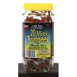 """Keeper 06053-10 Mini Bungee Cord, 10"""""""