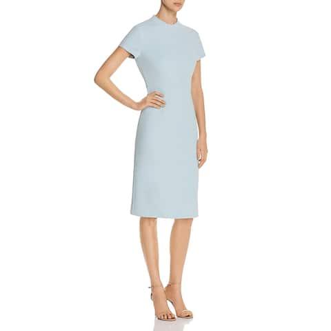 BOSS Hugo Boss Womens Demiara Sheath Dress Short Sleeves Office