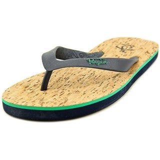 Original Penguin Cork Open Toe Synthetic Flip Flop Sandal