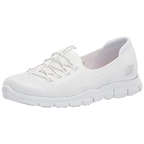 Skechers Women's Gratis Sneaker, WHT=White