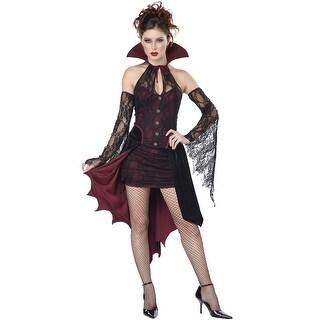 California Costumes Vampire Vixen Adult Costume - Red