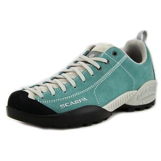 Scarpa Mojito Women  Round Toe Suede Blue Hiking Shoe