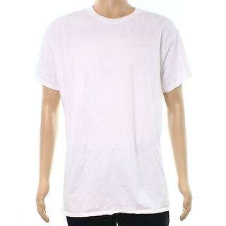 Fruit of the Loom NEW White Mens Size XL Short Sleeve Breathable T-Shirt
