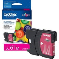 Brother LC61M Brother Magenta Ink Cartridge - Magenta - Inkjet - 325 Page - 1 Each