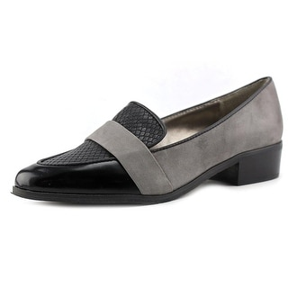 Tahari Lucille Pointed Toe Leather Loafer
