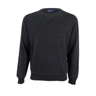 Polo Ralph Lauren Men's Crewneck Sweater (XL, Charcoal) - Charcoal - XL