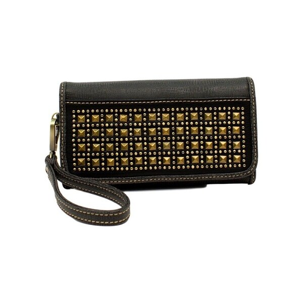 Blazin Roxx Western Wallet Womens Avril Clutch Lizard Gray - 7 1/2 x 4