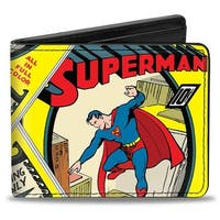 Classic Superman #1 Flying Cover Pose Bi Fold Wallet - One Size Fits most
