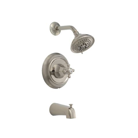 Mirabelle MIRBR8030G Boca Raton Tub and Shower Trim Package with Shower Head