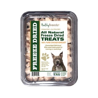 Healthy Breeds American Staffordshire Terrier Chicken Freeze Dried Treats