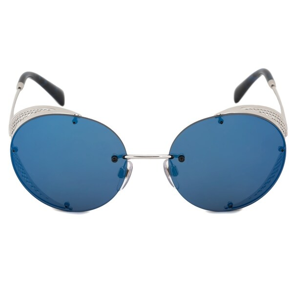 6b8161f0a0f Shop Valentino Oval Sunglasses VA2003 300655 52 - On Sale - Free ...