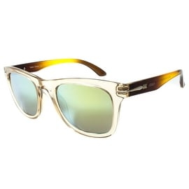 New Classy Look Shades Green Lens Orange Frame On Sale