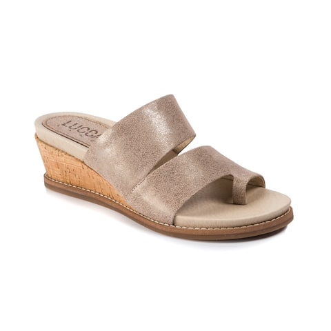 Lucca Lane Whitley Women's Sandals Light Gold