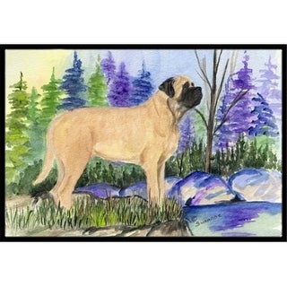 Carolines Treasures SS8009MAT 18 x 27 in. Mastiff Indoor Outdoor Mat