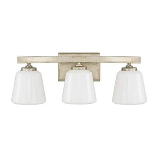 "Donny Osmond Home 8533-300 3 Light 20.75"" Wide Bathroom Fixture from the Berkeley Collection"