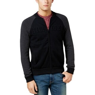 Tommy Hilfiger Mens Sweater Colorblock Raglan