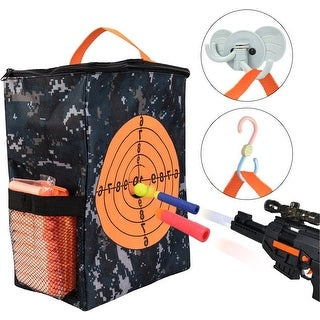 Target Pouch Storage Carry Equipment Bag for Nerf Guns Darts N Strike Elite / Mega / Rival Series