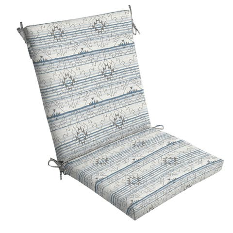 Arden Selections Carmen Southwest Outdoor Chair Cushion - 44 in L x 20 in W x 3.5 in H