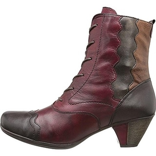 Remonte Womens Leather Lace Up Ankle Boots - 40 medium(b,m)