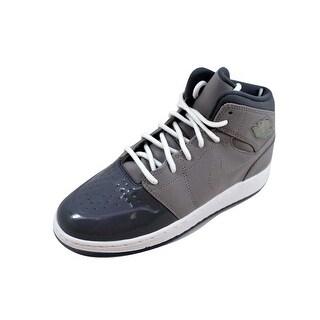 Nike Grade-School Air Jordan I 1 Retro '95 Medium Grey/White-Cool Grey 628620-003