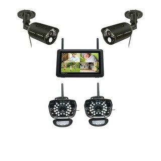 Uniden UDR777HD Kit 7 HD Touchscreen Video Surveillance System w/ Live Video on Your Smartphone/ PC