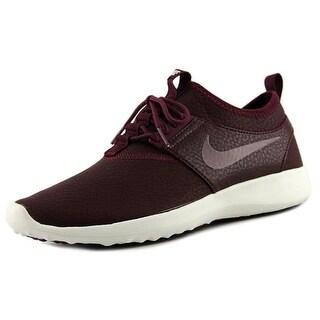 Nike Juvenate Women Round Toe Leather Burgundy Running Shoe