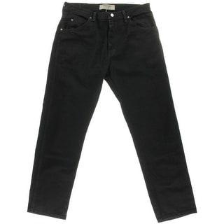 Wrangler Mens Classic Jeans Regular Fit Straight Leg