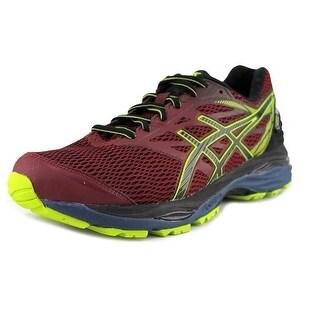 Asics Gel-Cumulus 18 Men Round Toe Synthetic Pink Running Shoe