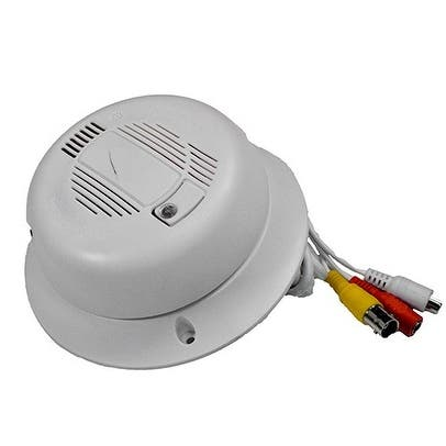 Shop Self Contained Hidden Camera Smoke Detector System
