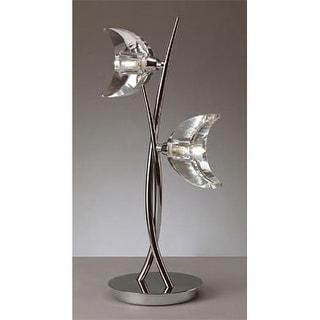 Mantra Lighting 1460 Eclipse 2 Light Table Lamp
