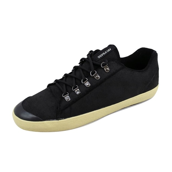 Supra Men's Assault Black Waxed Suede S02047