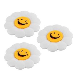 3 Pcs Family Message Board Sunflower Design Fridge Refrigerator Magnets