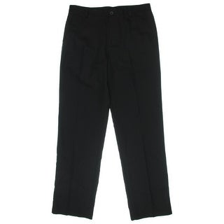 Izod Mens Straight Fit Slit Pockets Trouser Pants - 34/34