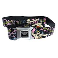 Wonder Woman and Stars Seatbelt Belt