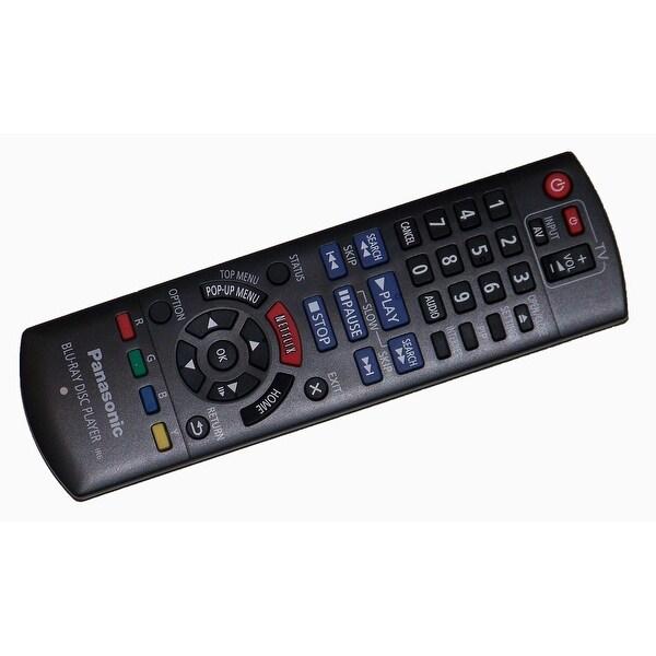 OEM Panasonic Remote Control Originally Shipped With: DMPBD79, DMPBD89, DMP-BD79, DMP-BD89