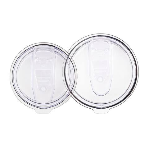 Monoprice Two Pack Tumbler Lid - One 10 oz./20 oz. Lid, One 30 oz. Lid - Pure Outdoor Collection