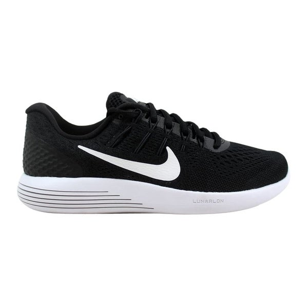b4cbc8bb4ee ... Women s Athletic Shoes. Nike Lunarglide 8 Black White-Anthracite 843726- 001 ...