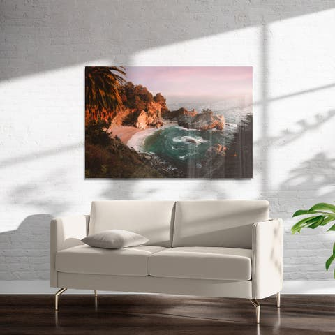 PARADISE COVE Art on Acrylic By Heather Rae