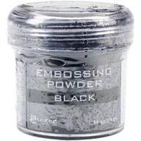 Black - Embossing Powder 1Oz Jar