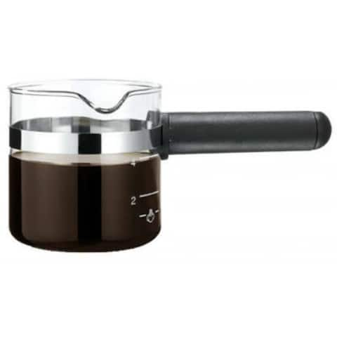 Medelco EXP100BK 4-Cup Glass Espresso Replacement Carafe