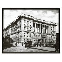 ''Court Street and Battle Monument, Baltimore, 1904'' by Anon Architecture Art Print (16 x 20 in.)