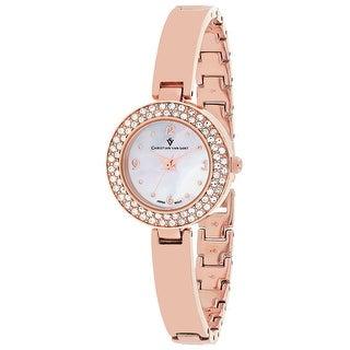 Christian Van Sant Women's Palisades CV8613 Mother of Pearl Dial watch