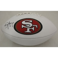 73e5e6c31 Shop Steve Young Autographed Hand San Francisco 49ers Logo Full Size ...