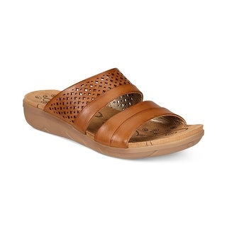 Bare Traps Womens Jimina Open Toe Casual Slide Sandals