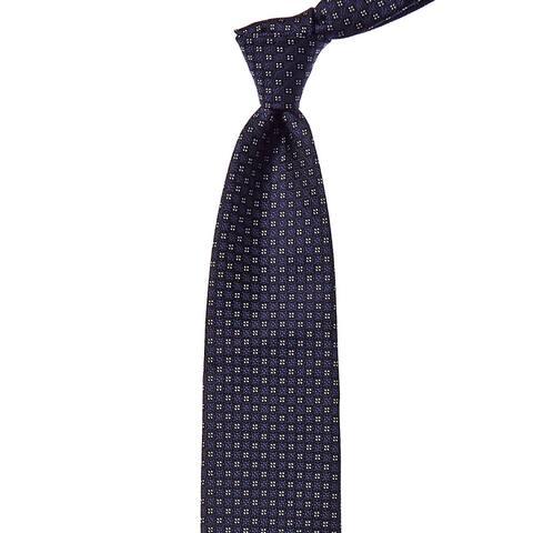 Ermenegildo Zegna Blue Tile Silk Tie - NoSize