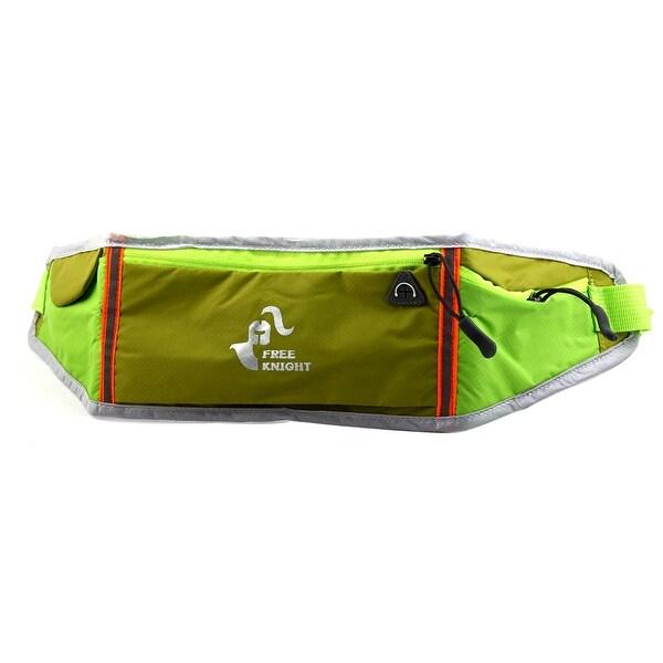 FreeKnight Authorized Workout Running Phone Holder Sports Pouch Waist Bag Green