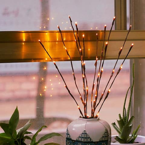 Led Branches Battery Powered Decorative Lights - Medium