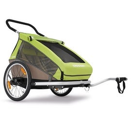 2016 Croozer Kid for 2 - 3 in 1 Two Child Trailer (Includes Trailer kit, Stroller Kit and Jogging Kit)